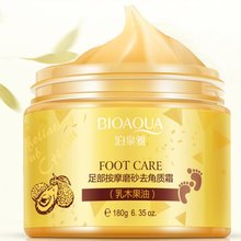 180g Foot Massage Scrub Exfoliating Cream Repai Rough Skin Whitening Smooth Moisturizing Anti Wrinkle Feet Care Cream