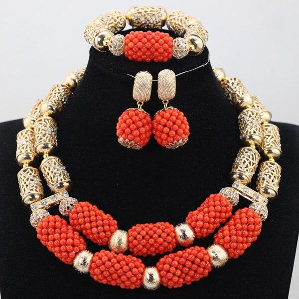 Great Beautiful Indian Wedding Crystal Jewelry Set Pretty Nigerian Beaded Jewelry  Set Free Shipping QW1018 In Jewelry Sets From Jewelry U0026 Accessories On ...