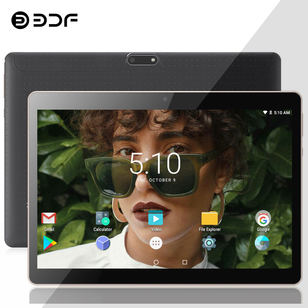 Russian Spain USA Ship BDF 10 Inch Dual 3G Phone Call Tablet Pc Android 7