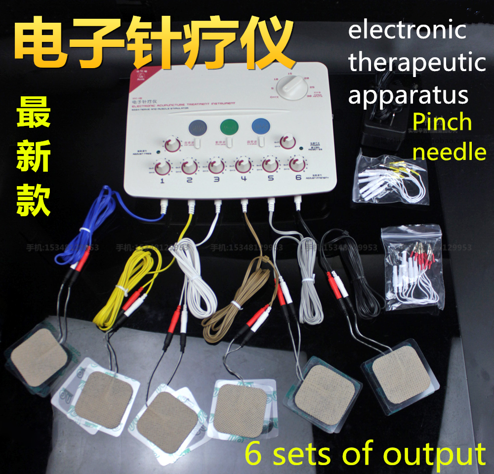 Hwato SDZ-II electronic therapeutic apparatus electric acupuncture instrument massage Nerve Muscle Stimulator pulse needle Set hwato sdz ii therapeutic massage nerve and muscle stimulator massager electronic pulse needle set