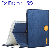 High Quality TPU PU Leather Shockproof Case Cover For IPad Mini 1 Mini 2 Mini 3