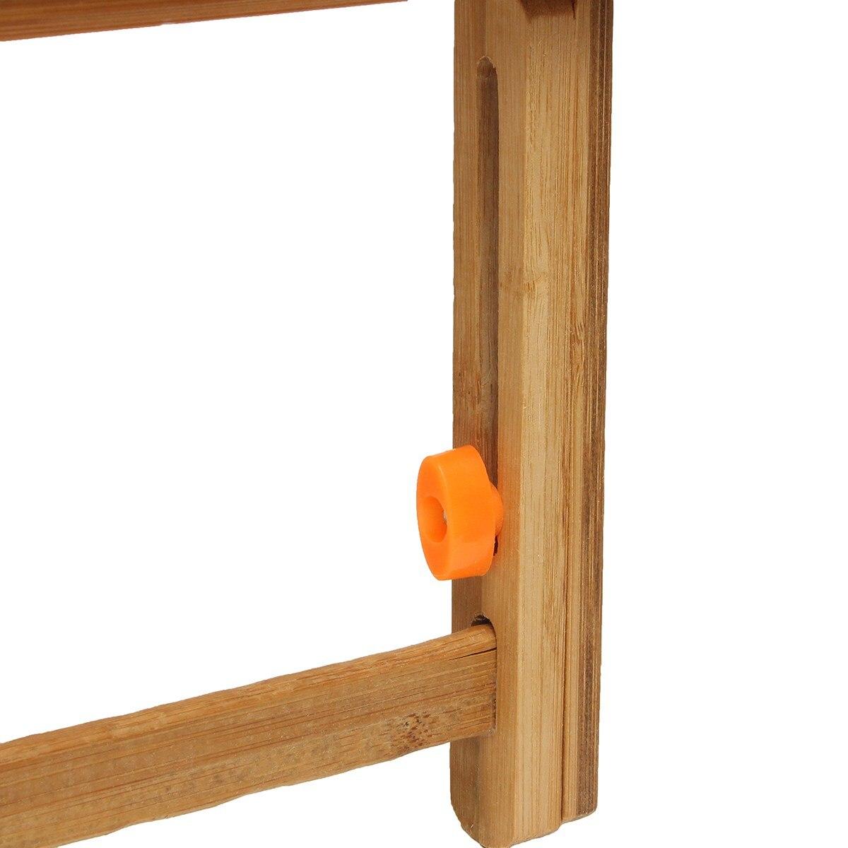 De Bureau En Bambou Stand Table Ordinateur De Bureau Pliant  # Table Ordi En Bois