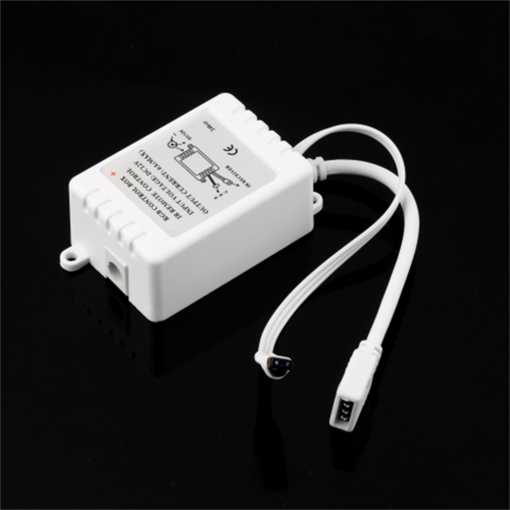 1set DC 12V 24 Keys IR Durable Remote Controller Box For SMD 3528 5050 RGB LED Light Strip