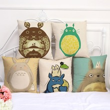 Totoro Pillow Cushion Cover – Home Decorative Pillow Sofa Cushion Cover 5 Edition