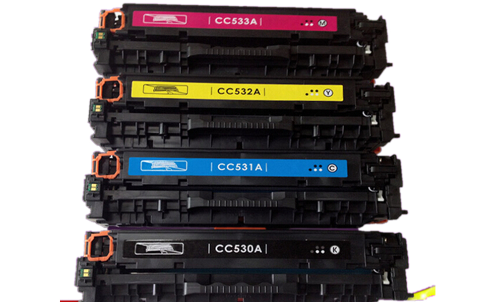 For HP CC530A CC531A CC532A CC533A toner Cartridge for HP Color LaserJet CM2320 / CP2020 / CP2025 laser printer