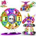 Новый 180 шт Мини Магнитный дизайнерский Строительный набор модель и строительные игрушки пластиковые магнитные блоки Развивающие игрушки ...