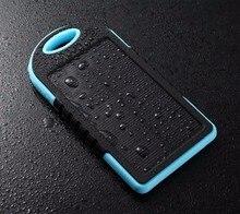 5000mah Universal Solar Powerbank Mobile Phone Power Bank Portable External Sun Charger Cellphone Battery