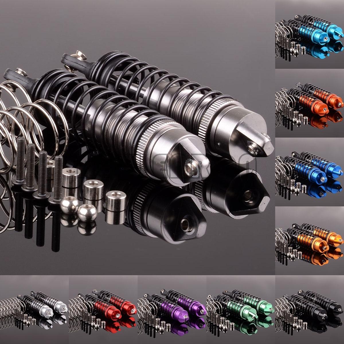 NEW ENRON 2P/4P Aluminum Front 72-90MM/Rear 80-102MM Oil Shock Absorber Damper SLA023-24 For RC Traxxas Slash 4x4 Stampede