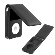 Кожаный чехол EY для Apple iPod Classic 80/120/160GB со съемным зажимом