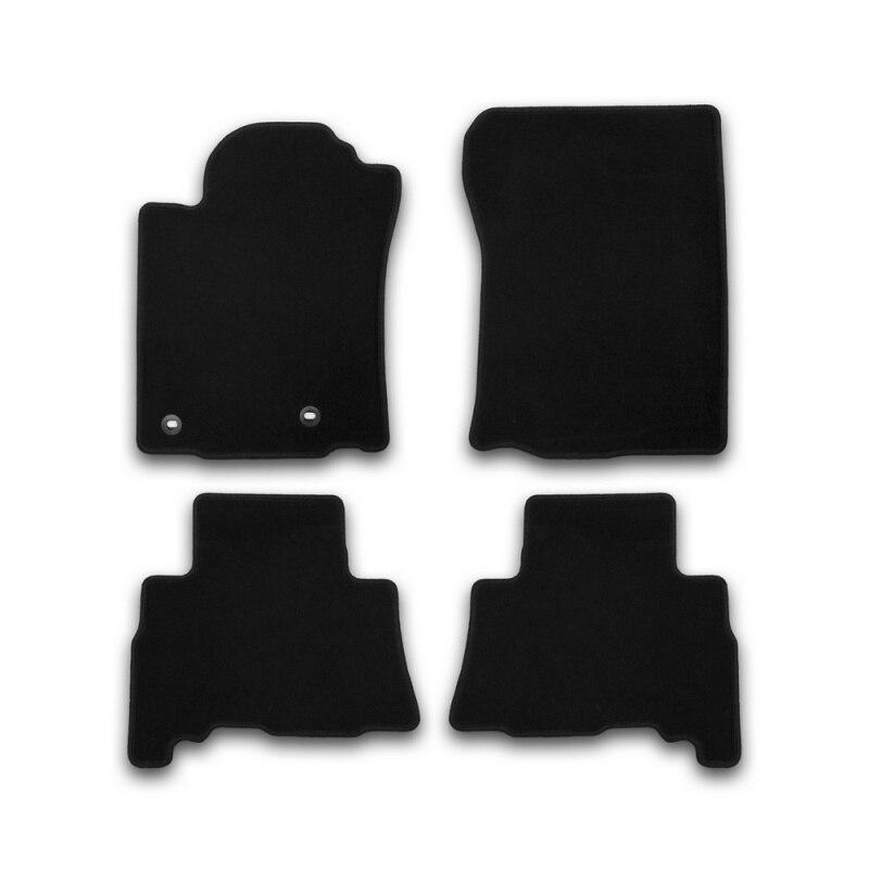 Car Mats 3D salon For VOLVO XC60, 2017->, SUV, 4 PCs (polyurethane) mats in the salon for volvo xc60 2007 4 pcs polyurethane