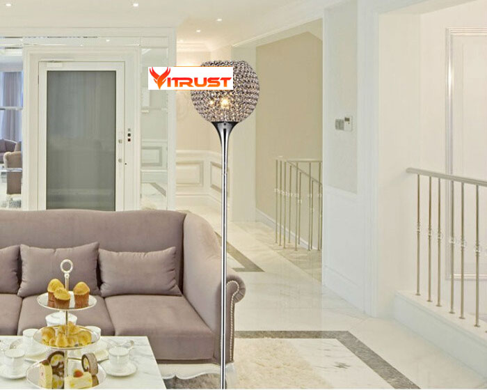 Mooie Slaapkamer Verlichting : Mooie crystal vloer lampen slaapkamer tafel floor verlichting