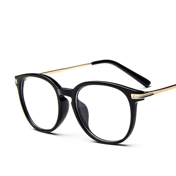 10 pièces/lot cadres en verre pour hommes 2017 mode ronde métal cadre lunettes pour homme femmes Ultra-léger Vintage plaine lunettes cadre