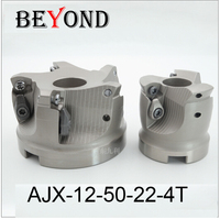 AJX 12 50 22 4T EMR Round Nose Surface Nc Milling Cutter Cnc Milling Cutter Face