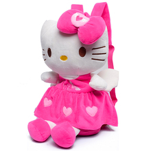 Плюш школьный парни минни микки hello kitty mochila школа стерео прекрасный