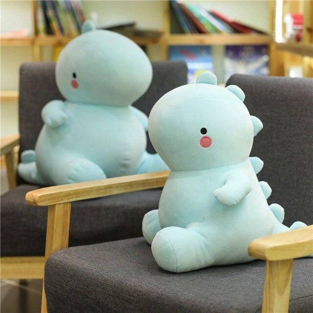 Nueva llegada 30-50CM dinosaurio juguetes de peluche Kawaii peluche muñeco de animal suave para niños bebé juguete de dibujo animado para niños regalo clásico