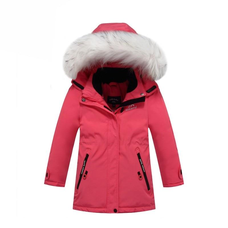 Top Quality!Boys Winter Jackets Warm Outerwear Thicken Parka New 2017 Duck Down Coats For Boys Jackets Windbreaker Snow Wear