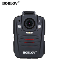 BOBLOV HD66-07 Body Police Video Camera DVR 2.0 inch LCD Wearable 170 Degree Wide Angle Night Vision 64GB 2 Battery