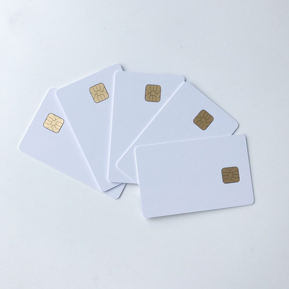 Hard-Working 50pcs/lot Blank Inkjet Printable Sle4428 Chip Card Contact Pvc Card Credit Card Size Print By Epson Or Canon Inkjet Printers Elegant In Smell Business Cards