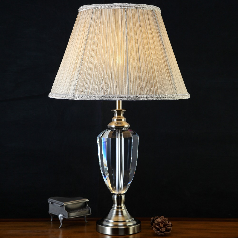 Buy glass crystal table lamp and get free shipping on aliexpress geotapseo Images