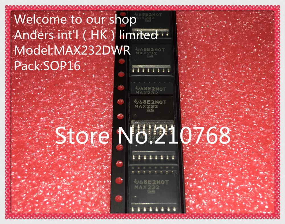 50pcs Lot Max232dwr Max232dw Max232 S0p16 In Integrated Circuits Datasheet From Electronic Components Supplies On Alibaba Group