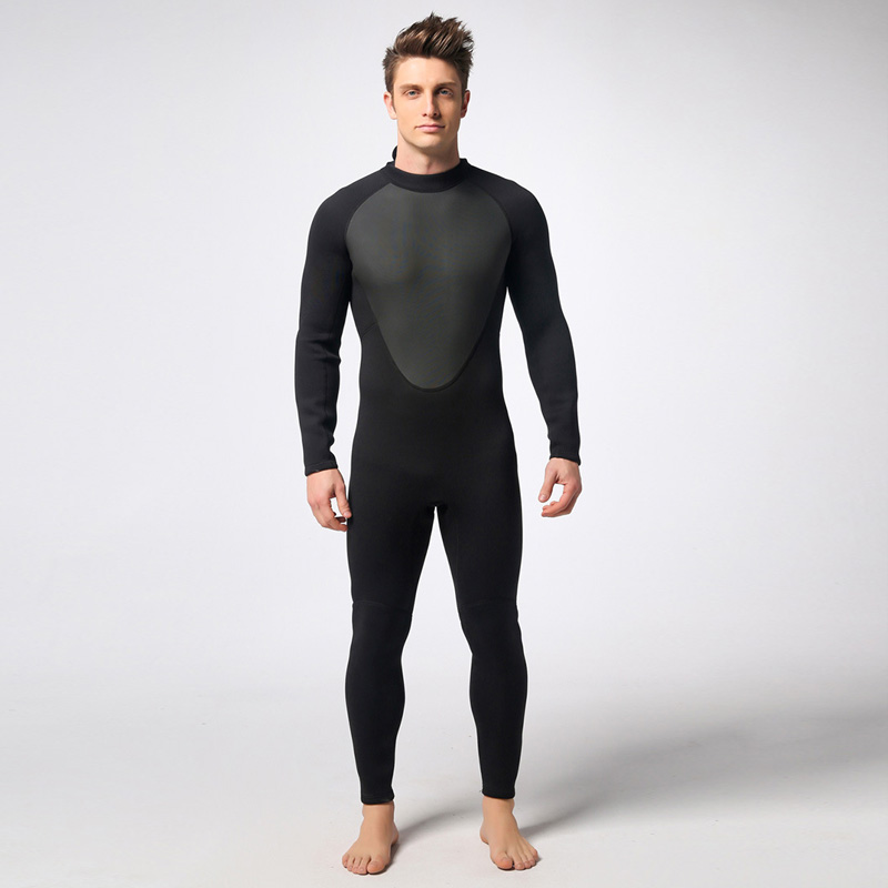 Spearfishing Wetsuit 3MM Neoprene Scuba Diving Suit Snorkeling suit Triathlon Waterproof Keep Warm Anti-UV Fishing Surf Wetsuits plus size spearfishing wetsuit 3mm