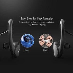 Image 4 - Mpow Cheetah MBH6 2nd generacji bezprzewodowy Bluetooth 4.1 słuchawki z mikrofonem bezprzewodowy połączenia AptX słuchawki sportowe dla smartfonów