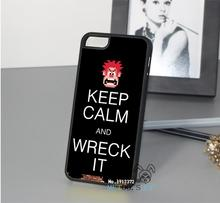 Wreck it Ralph combined with Keep Calm and carry on phone case cover for iphone 4 4S 5 5S se 5c 6 6 plus 6s 6s plus 7 7 plus