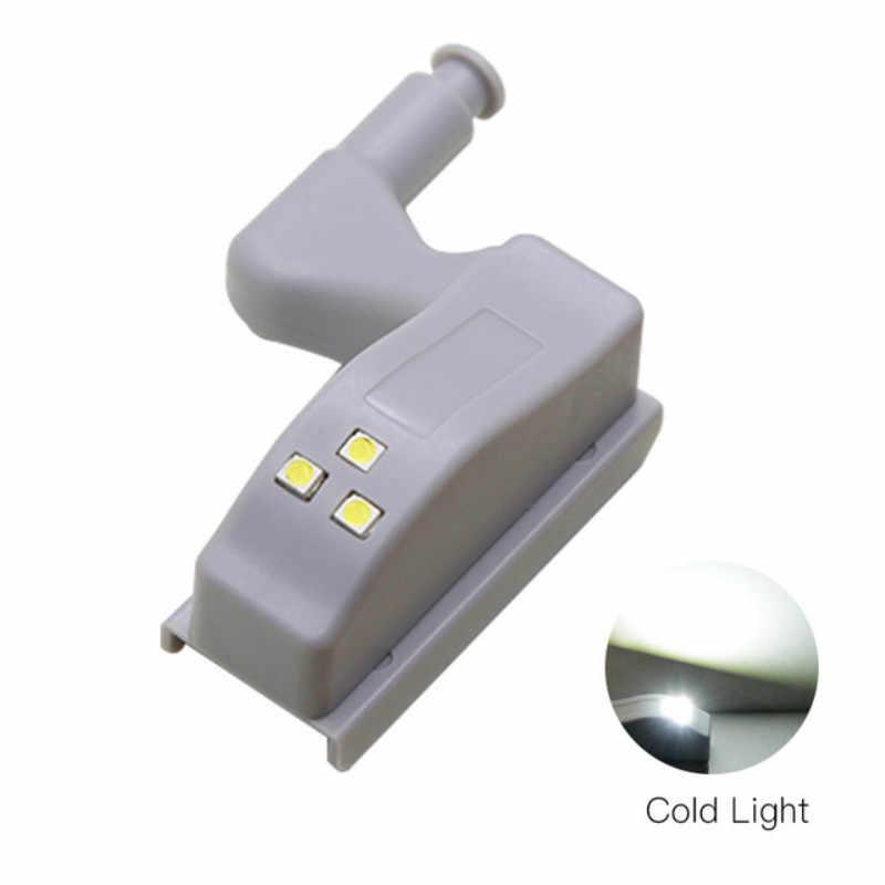 5 шт. интеллектуальная лампа для шкафа 0,3 Вт шкаф для шкафа внутренняя петля светодиодная Сенсорная лампа ночник для кухни спальни