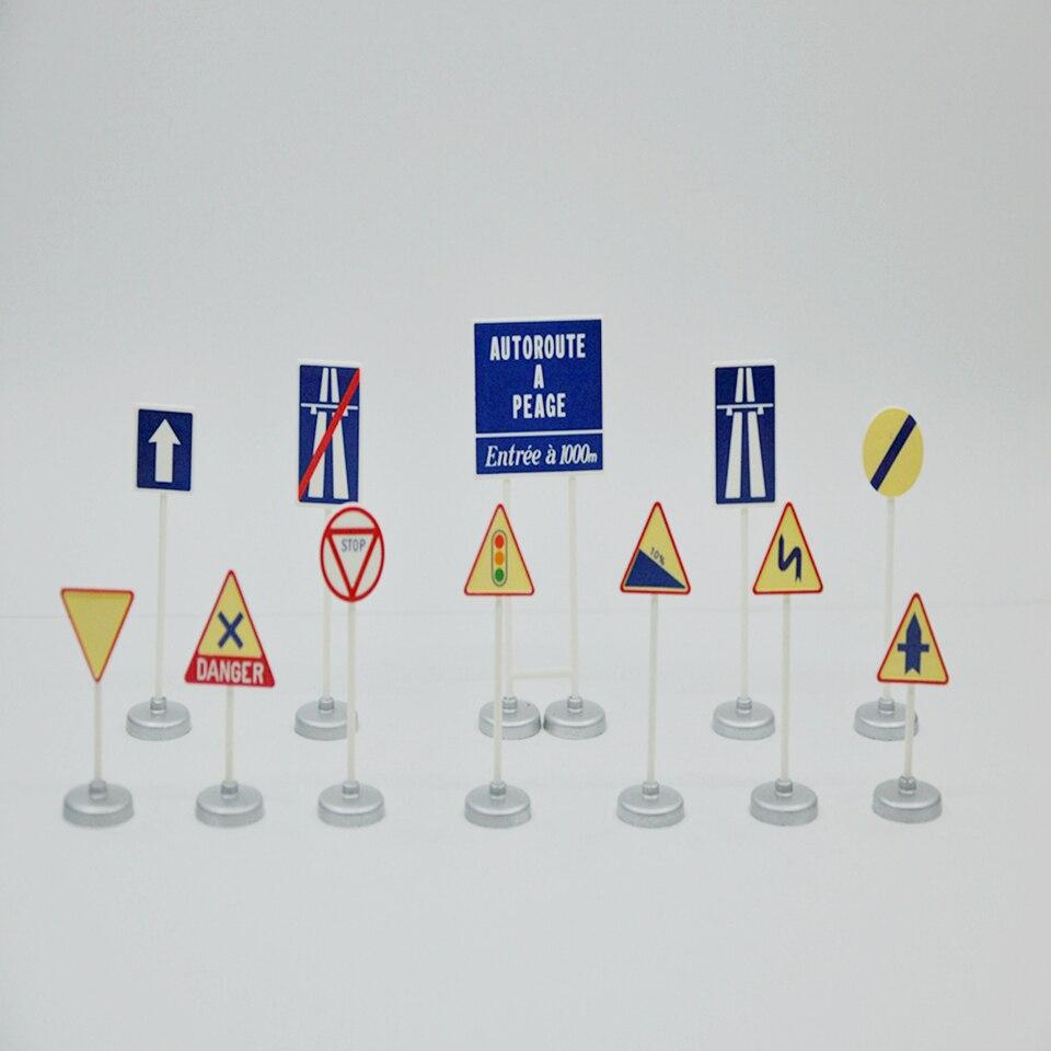 Señales de tráfico de 2 decal naßschiebebild 1//43 tr2-43 195x125 mm