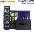 Арабский коробка iptv MAG 250 же iptv italia MAG 254 IUDTV счет MAG250 добавить IPTV италия Франция португалия Албании Швеции IPTV Европа