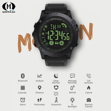 Outdoor Sports Waterproof Smart Wristbands Bluetooth V4.0 Long Standby Watch Tactical Military Remote Camera