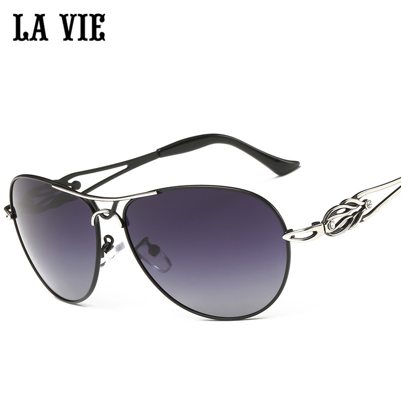 LA VIE Polarized Fashion Elegant Women Sunglasses Style design legs Female  Sun Glasses Oculos De Sol Gafas De Sol LVA292 9fe395d539