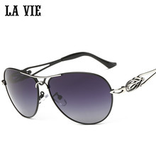 La Vie поляризационные модные элегантные женские солнцезащитные очки Стиль ноги дизайн женские солнцезащитные очки Óculos де Sol gafas-де-сол LVA292