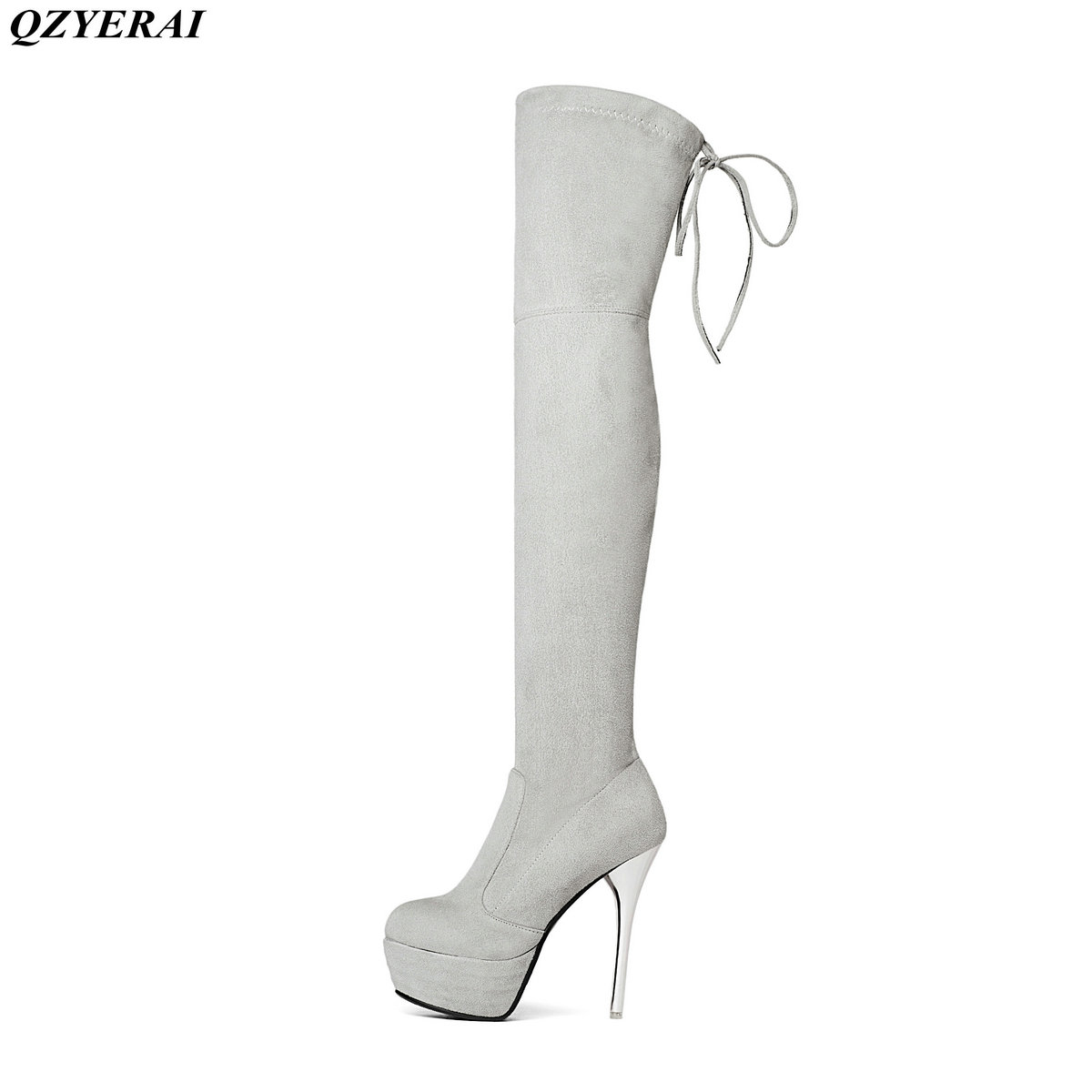 2018 New Women Boots Sexy Fashion Over the Knee Boots Sexy Thin Square Heel Boot Platform Woman Shoes Black size 34-43 new women suede sexy fashion over the knee boots sexy high heel boots platform woman shoes black blue size 34 43