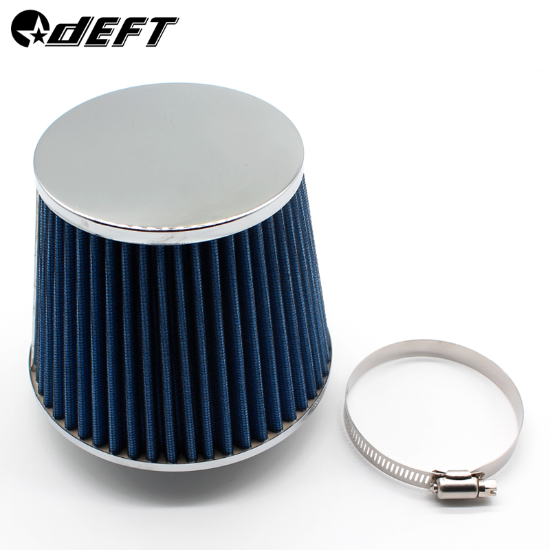 "2.75/"" Short Ram Cold Air Intake Filter Round Universal BLUE For Suzuki"