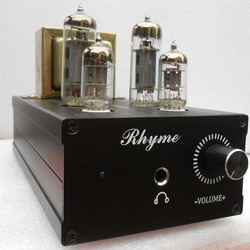 Classic circuit 6J1+6P1 Vacuum tube headphone amplifier , Good music sound level clear HIFI music audio Preamplifier  B-