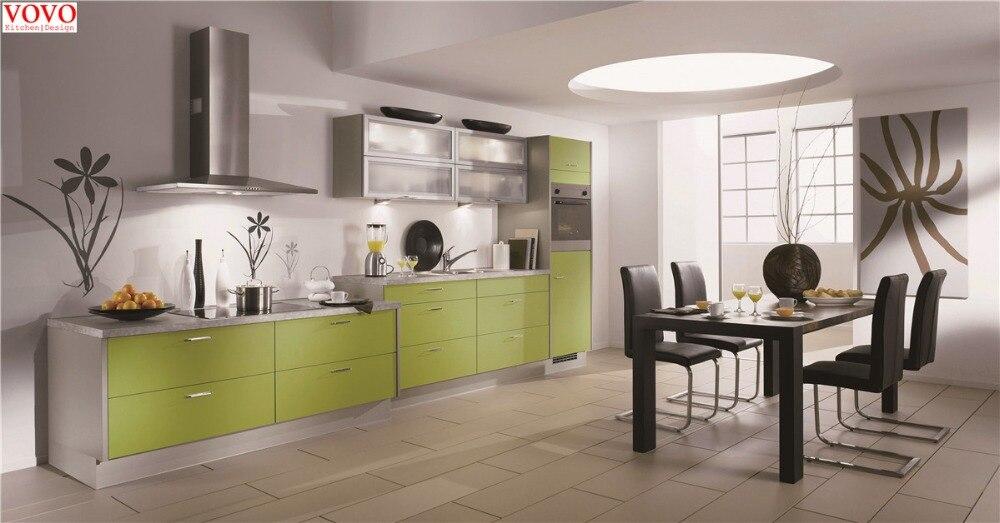 I Bentuk Dapur Kabinet Segar Warna Hijau Kitchen Cabinet Kitchen Cabinets Colorcabinet Color Aliexpress