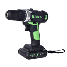 цена на ED04 21V Cordless Drills Bit Electric Impact Hand Screwdriver Power Hammer Wireles Nail Drill Driver Battery For Power Tools