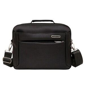 Image 4 - Fashion Business Briefcases Man For Lawyer Messenger Bag Men Shoulder Bags Laptop MenS Briefcases 2019 Handbag Crossbody Bag