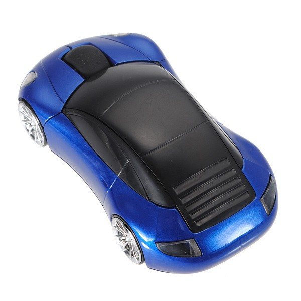 2.4G Car Mouse Porsche Wireless Mouse With Backlight Light Emitting  Horseman Internet Cafe Wireless Laptop Car Mouse