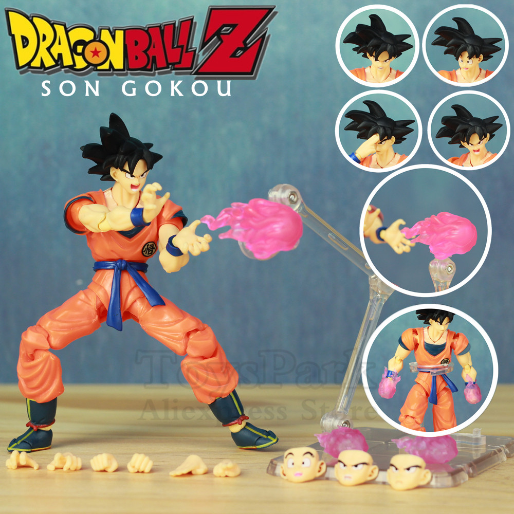 Toys & Hobbies Figuarts Doll Toys With The Most Up-To-Date Equipment And Techniques Qualified Dragon Ball Z Dbz Son Goku 6 Super Action Figure Son Gokou A Saiyan Raised On Earth Grown Young Kos Shf S.h