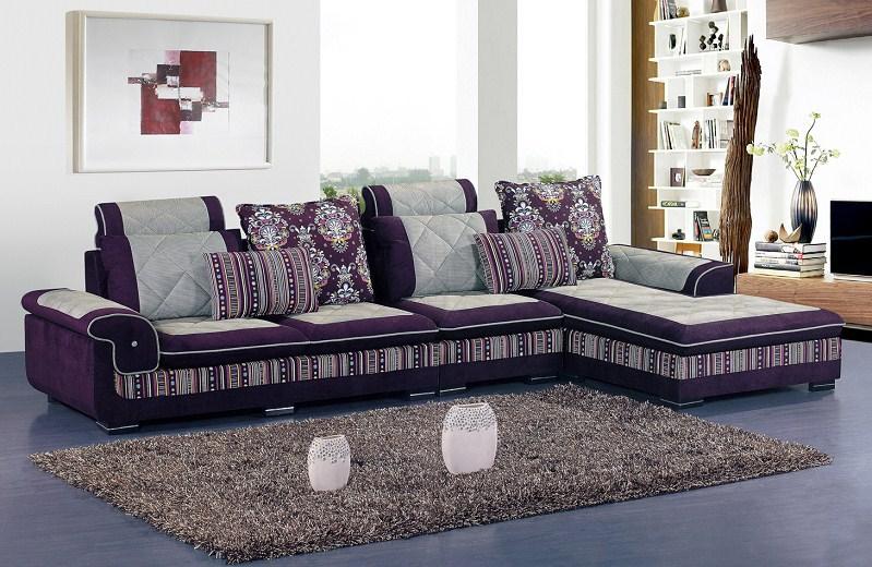 morden tissu l canap en forme canap dangle color canap usine gros meilleure qualit meubles de salon r1 - Canape Colore