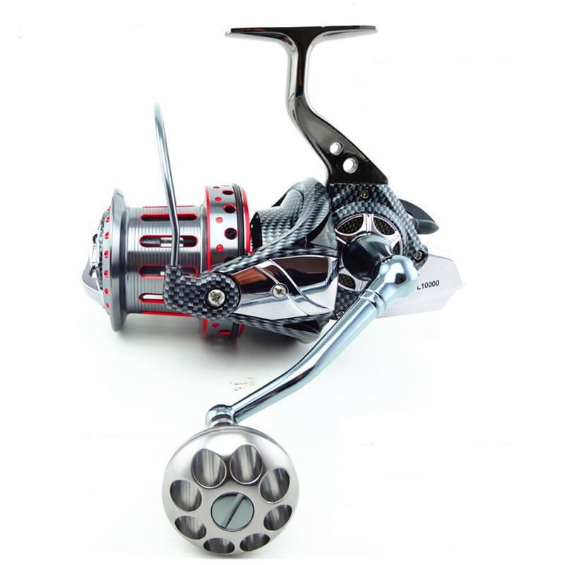 Surf Casting Reel 4.7:1 11BB Metal Fishing Reel Spinning Wheel Fishing Gear Long Shot Double Bearing Syestem цена