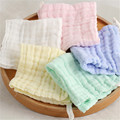 Cotton Children Baby Face Towel White Lot Products For Children Gasas Para Bebes Washcloths Newborn Cotton Gauze Soft 50A090