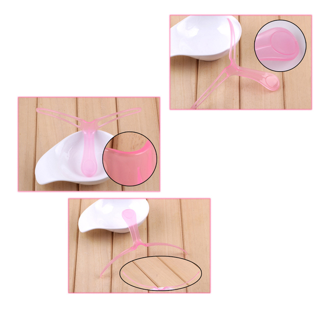1PC Pink Eyebrow Stencil Shaping Grooming Eye Brow Makeup Template Reusable Design Eyebrows Make Up Model Cosmestic Tool 4