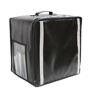 38л изоляционные сумки для пиццы на вынос, сумка для ланча, сумка для торта, холодильная дорожная коробка, двойная сумка на плечо, водонепрони...