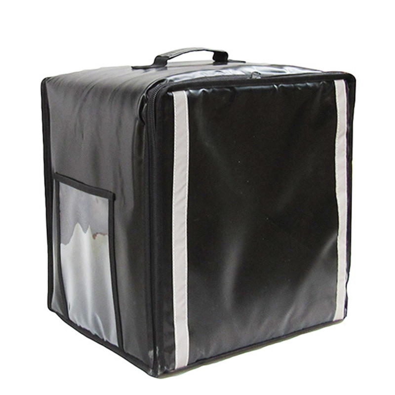 38L insulation bags pizza takeaway <font><b>ice</b></font> <font><b>pack</b></font> <font><b>lunch</b></font> bag cake refrigerated travel box double shoulder handbag waterproof suitcase image
