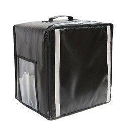 Bolsas de aislamiento 38L, bolsa de hielo para llevar pizza, bolsa de almuerzo, caja de viaje refrigerada para pastel, bolso de hombro doble, Maleta impermeable