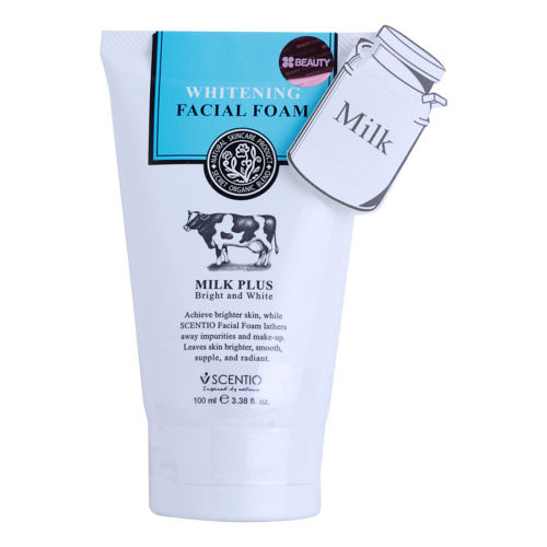 Beauty Buffet Scentio Milk Plus Whitening Q10 Facial Foam Cleanse Beauty Buffet Scentio Milk Plus Whitening Q10 Facial Foam Cleanse