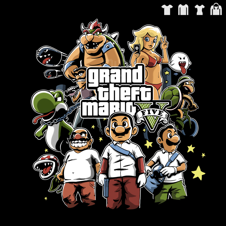 Gta 5 Cartoon Characters : Popular mario drawing buy cheap lots from